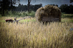 Tractor y transporte fotos de archivo