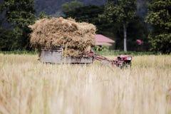 Tractor y transporte fotografía de archivo