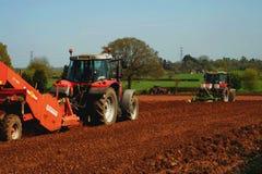 tractoren Stock Fotografie
