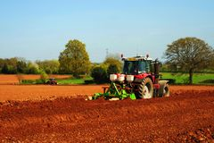 tractoren Royalty-vrije Stock Foto's