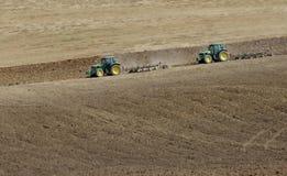 Tractoren Royalty-vrije Stock Afbeeldingen