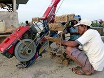 tractoren Royalty-vrije Stock Afbeelding
