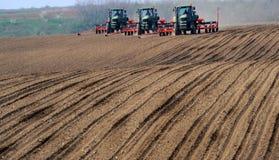Tractores foto de archivo
