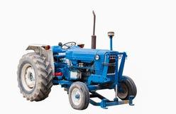 Tractores agrícolas azules imágenes de archivo libres de regalías