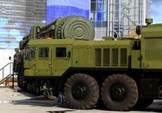 Tractores para las fuerzas estratégicas del misil Imagen de archivo