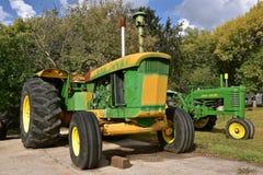 Tractores viejos de John Deere Imagen de archivo
