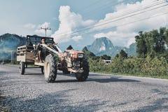 Tractorruiter Stock Foto's