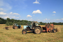 Tractors. Stock Images