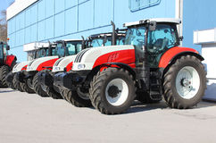 Tractors Royalty Free Stock Photos