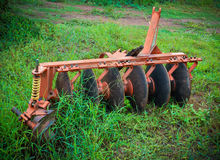 Tractors equipment Stock Image