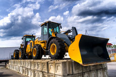 2 Tractors Royalty Free Stock Photo