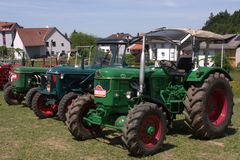 Tractors Royalty Free Stock Image