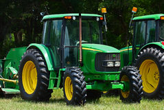 Tractors for mowing. Royalty Free Stock Photos