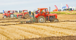 Tractors at Ploughing Championship. Stock Photography