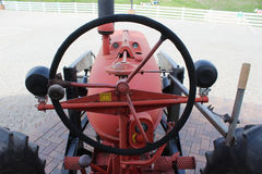 In the Tractors Seat Royalty Free Stock Images