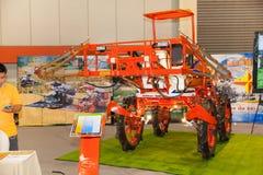 Tractors Spray Royalty Free Stock Photo