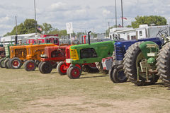 Tractors in wait Stock Photography
