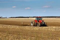 Tractors working Stock Photos