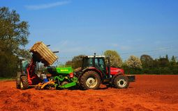 Tractors Stock Photography