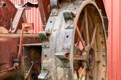 Tractorwiel Royalty-vrije Stock Afbeeldingen