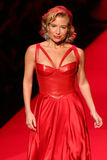 Tracy Anderson walks the runway at the Go Red For Women Red Dress Collection 2015 Royalty Free Stock Images