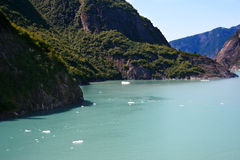 Tracy Arm fjord Stock Images