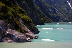 Tracy Arm fjord Royalty Free Stock Photography