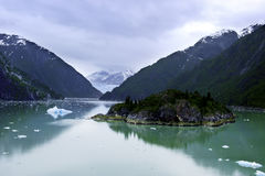 Tracy Arm Fjord Royalty Free Stock Photos