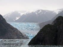 Tracy Arm Fjord's Sawyer Glacier Royalty Free Stock Photography