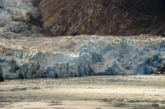 Tracy Arm Glacier Royalty Free Stock Photography
