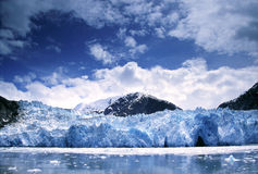 tracy för glaciär för alaska armfjord royaltyfri foto