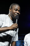 Tracy Morgan appearing live. Royalty Free Stock Photo