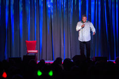 Tracy Morgan. LINCOLN, CA – April 26: Comedian Tracy Morgan performs at Thunder Valley Casino Resort in Lincoln, California on April 26, 2014 royalty free stock images