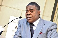 Tracy Morgan star. Tracy Morgan gets a star on the Hollywood Walk of Fame Stock Photo