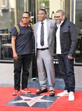 Tracy Morgan star. Tracy Morgan gets a star on the Hollywood Walk of Fame Royalty Free Stock Images