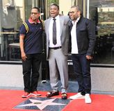 Tracy Morgan star. Tracy Morgan gets a star on the Hollywood Walk of Fame Royalty Free Stock Photography