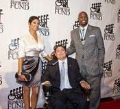 Tracy Mourning, Marc Buoniconti, Alonzo Mourning Stock Photography