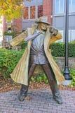 Tracy Statue In Naperville Illinois Stock Photo