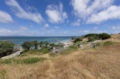 Tracze Trzymać na dystans, Flinders wyspa, Tasmania Obraz Royalty Free