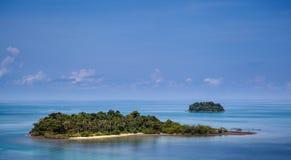 Trad landskap Thailand för Kohchang ö Arkivfoton