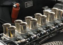 Tradditional carburettors Royalty Free Stock Image