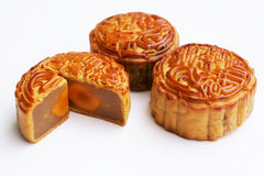 Tradditional Mooncake Stock Photo
