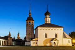 Trade area in Suzdal, Russia Stock Photography