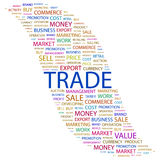 TRADE. Stock Photo