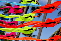 Trade bright kites in Thailand Royalty Free Stock Image