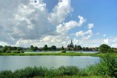 Trade, church and nature, Holland Royalty Free Stock Photos