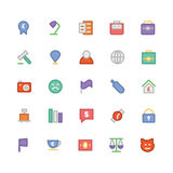 Trade Colored Vector Icons 3 Royalty Free Stock Photos