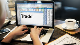 Trade Exchange Import Export Business Transaction Concept Stock Photography