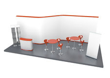 Trade Exhibition Stand stock illustration