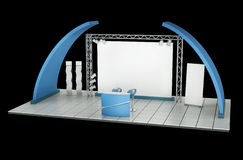 Trade Exhibition Stand Royalty Free Stock Photography